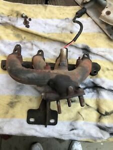 Geo Tracker Exhaust Manifold 1989 To 1995 With Heat Shield And Sensor
