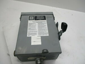 Square D Du221rb Ser E2 Safety Switch Used
