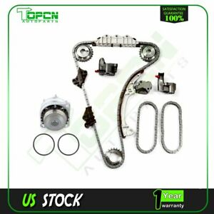 For 01 04 Nissan Pathfinder Infiniti Qx4 Timing Chain Kit With Engine Water Pump