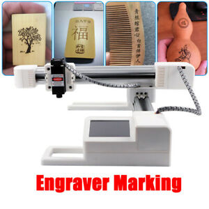 3w Laser Engraver Wood Plastic Leather Logo Printer Cutting Engraving Machine Us