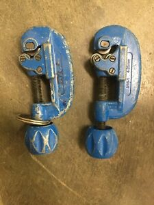 2 Used Swagelok Ms tc 308 Tube Pipe Cutters 4 25mm 3 16 1