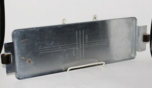 Norman Bel Geddes Art Deco Revere Cocktail Tray Chrome With Bakelite Handles