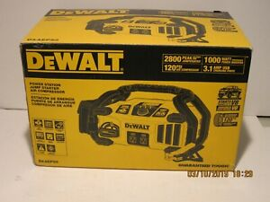 Dewalt Dxaeps2 2800 Peak Amp Jump Starter Power Inverter W Digital Comp Nisb Fs