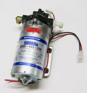 Shurflo Water Delivery Demand Diaphragm Pump 1 8 Gpm 60 Psi 12vdc 8000 443 236