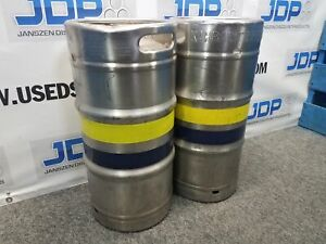 5 16 Gallon Stainless Steel Keg Used Quantity 1 Sku B13