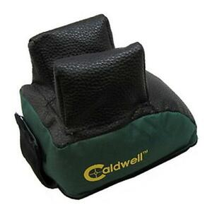 Caldwell 800888 Shooting Range Rear BagRest Leather Green