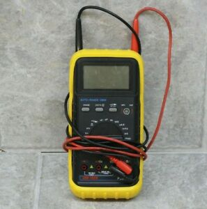 Cen tech P35017 Digital Multimeter Measurement Auto Range Dmm