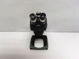Bausch Lomb Stereozoom 4 0 7x 3x Microscope W 10x Eyepieces And Stand Tested