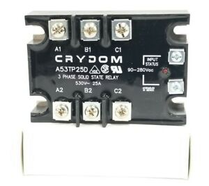 Nib Crydom A53tp25d 3 phase Solid State Relay 530v 25a