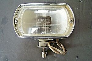 Original Lucas 1968 1969 1970 Ford Mustang Shelby Cobra Gt40 Fog Light Used