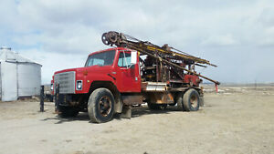 Water Well Drilling Rig Cable Tool Bucyrus 22w 1250ft Rated Drills Hard Rock