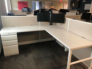 6 X 6 Cubicle Partition System By Hon Office Furniture