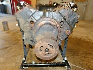 1984 C4 Corvette 350 Engine Block W Heads