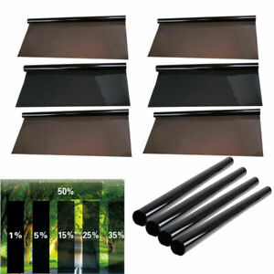 All Precut Sides Rears Window Tint Kit Computer Cut Glass Film Car Any Shade