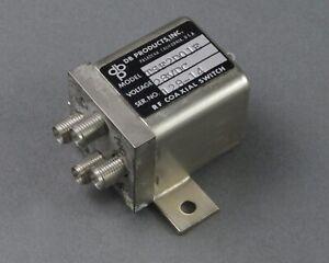 Db Products Tsf2d01e Rf Coaxial Switch Dc 18 Ghz 28 Vdc Sma Female Failsafe