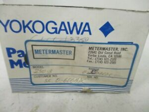 Yokogawa Ye 25032yec5c Panel Mount Meter 0 600 Dc Amperes New In Box