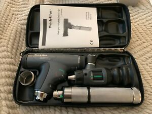 Welch Allyn Diagnostic Set 11820 Panoptic Ophthalmoscope Illuminator Otoscope