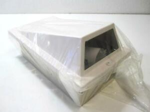Pelco Eh2100 White 10 In ceiling Wedge Style Camera Housing New
