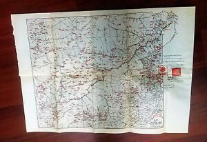 1962 Map Of 1914 Map Of India Tibet Frontier British Plenipotentiaries Takpo