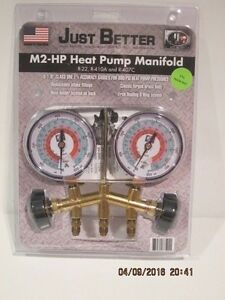Jb Industries M2 hp 2 valve Brass Heat Pump Manifold m2 hp 316 Free Ship Nisp