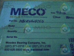 Meco Hb1kuwf150 Shaft Seal Kit new In Box