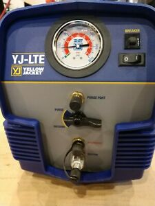 Yellow Jacket 95730 Refrigerant Recovery Hvac System Tool Unit Yj lte