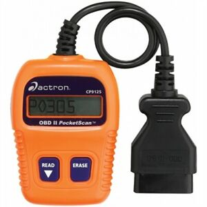 Bosch actron Cp9125c Obd ii Pocketscan Code Reader 1996 up Domestic