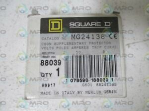 Square D Mg24138 Circuit Breaker New In Box