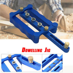 Woodworking Self Centering Dowelling Jig Metric Dowel 6 8 10mm Drilling Tool