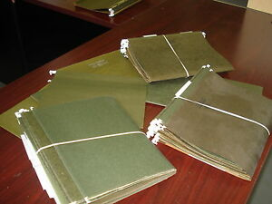 Lot Of 200 Letter Size Hanging Folders