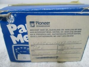 General Electric 2543 10005 Panel Meter 50 0 50 New In Box