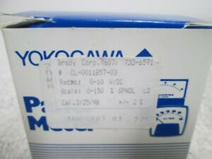 Yokogawa Nwb0903 Panel Meter 0 10 V dc New In Box