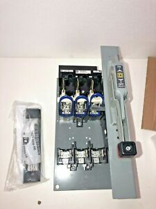 New square D 9422btdf63 600 Vac 60 Amp Disconnect Switch Circuit Breaker