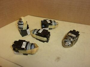 General Electric Switch Cr104e 122 Lot Of 5