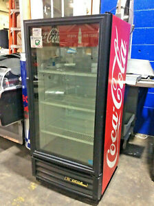 True Gdm 10 ld 1 Glass Door Reach in Refrigerator Cooler Coca Cola Coke