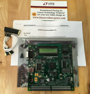 Xilinx Spartan 3a Evaluation Kit Nh spar3a evl New Surplus In Opened Box