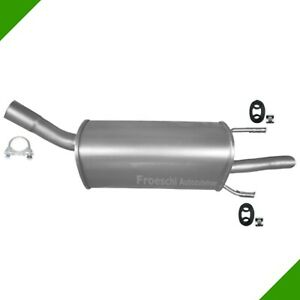 Vauxhall Corsa B 1 0i 12v Muffler End Pipe Exhaust Exhaust System