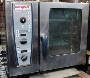 Rational Electric Commercial Combimaster Oven Model Cmp61 Kw 11 0 Combination