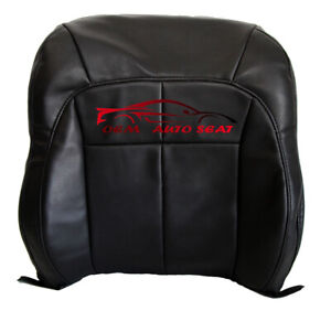 1999 Jeep Grand Cherokee Limited Driver Lean Back Vinyl Seat Cover Dark Gray