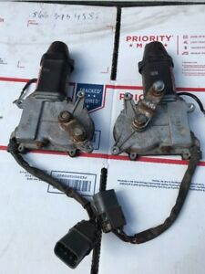 1992 1994 Nissan 240 Sx Convertible 2 L R Headlight Motors In Working Condition