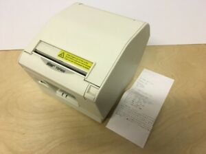 Star Micronics Tsp800 Ver4 1 Ethernet Thermal Receipt Label Printer No Acadapter