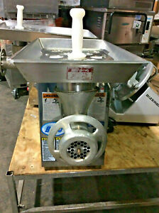Biro 922 Commercial Countertop Manual Feed Meat Grinder Sn 4101