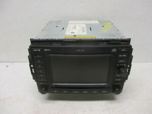05 06 Jeep Grand Cherokee 6 Disc Mp3 Gps Navigation Radio Rec 56038646al Oem Lkq