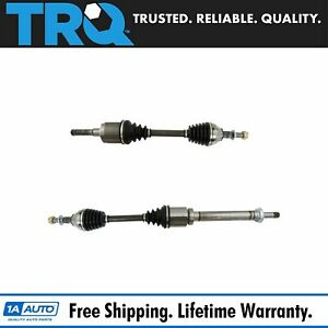 Trq Front Complete Cv Axle Shaft Assembly Kit Pair Set For Fusion Mkz Fwd 2 0