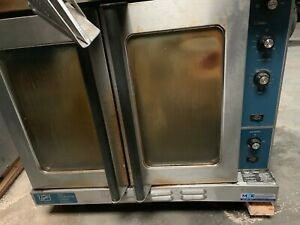 used Duke E101 g Commercial Single Deck Gas Convection Oven