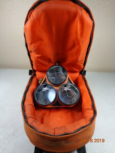 Seco Land Surveying Triple Tilting Prism Assembly Protective Carrying Bag C37