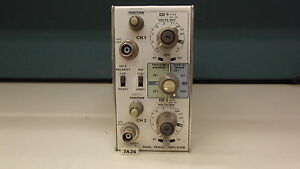 Tektronix 7a26 Dual Trace Amplifier