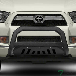Topline For 2010 2021 Toyota 4runner Avt Bull Bar Grille Guard Textured Black