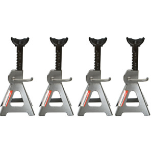 3 Ton Steel Jack Stands 4 Pack 16 High Lift Heavy Duty Auto Car Vehicle Tool
