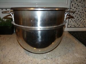 Hobart Stainless Steel D 30 Large Commercial Mixing Bowl D300 30 Quart Ohio Qt